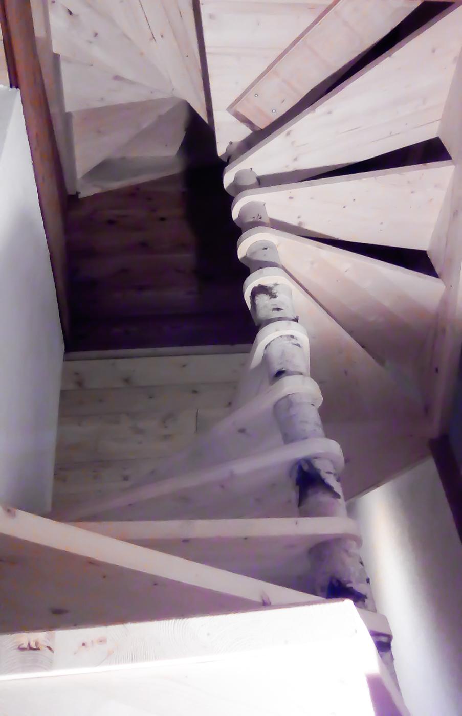 Travaux Charpente En Bois - Escalier