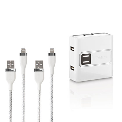 Mobile Charging Kit with Lightning® Cables