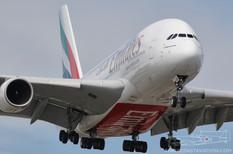 CYYZ - Jun 19, 2009  Airbus A380  Emirates