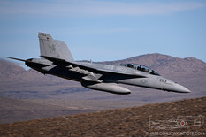 Star Wars Canyon - Jan 22, 2019  Boeing F/A-18F Super Hornet  VX-31 Dust Devils - United States Navy