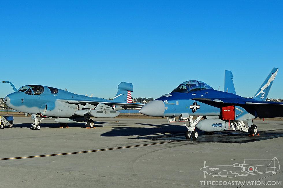 Centennial of Naval Aviation - VAQ-129 Aircraft