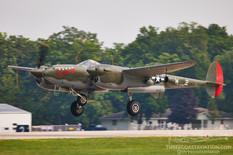 EAA AirVenture Oshkosh - 2021  Lockheed P-38L Lightning 'SCAT III'  Fagen Fighters