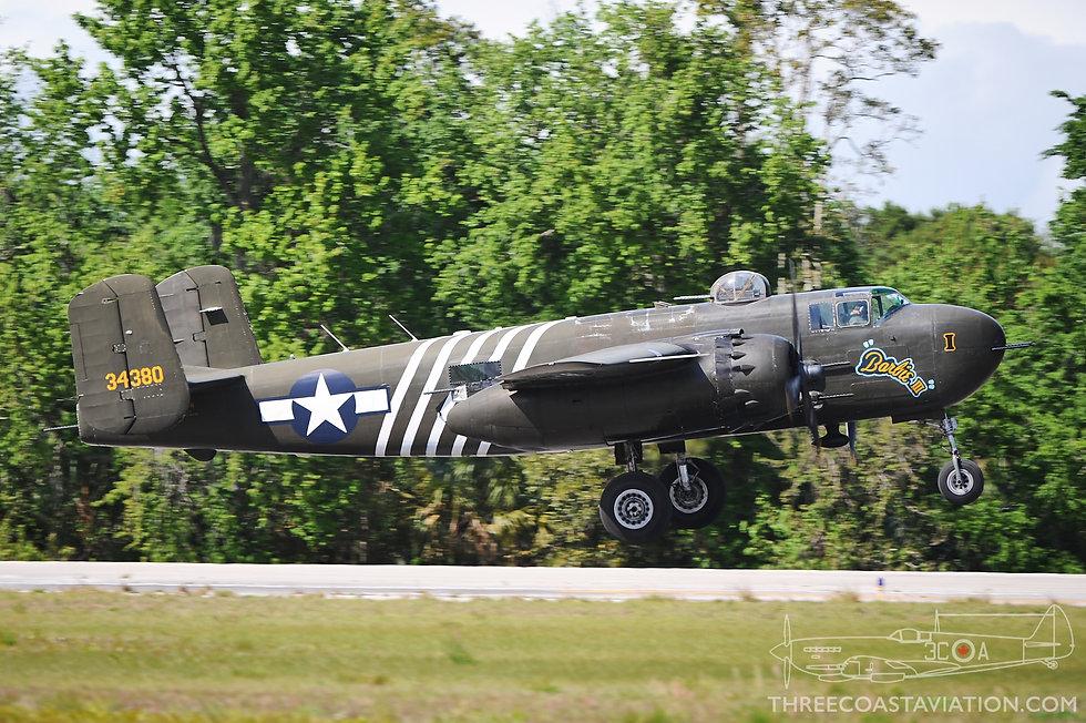 2012 TICO Warbird Airshow - B-25 Mitchell