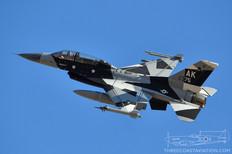 Nellis AFB - Nov 5, 2019  General Dynamics - F-16C Fighting Falcon  18th Aggressor Squadron - United States Air Force