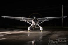 Canadian Warplane Heritage Museum Night Run - 2015  Westland Lysander Mk.IIIA  Vintage Wings of Canada