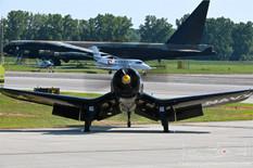 Thunder Over Michigan - 2019  Chance-Vought F4U-4 Corsair 'Korean War Hero'  Jim Tobul