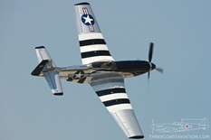 Quinte International Air Show - 2016  North American P-51D Mustang 'Quick Silver'