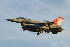 Luke AFB - Feb 21, 2017  General Dynamics F-16D Fighting Falcon  425th Fighter Squadron 'Black Widows' - Republic of Singapore Air Force