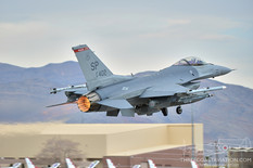 Red Flag 13-2  General Dynamics F-16CJ Fighting Falcon  480th Fighter Squadron 'Warhwaks' - United States Air Force