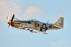 Thunder Over Michigan - 2012  North American P-51D Mustang 'Ain't Misbehavin'
