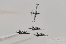 TICO Warbird Airshow - 2012  Lockheed T-33 Shooting Star  Aero L-39 Albatros  Black Diamond Jet Team