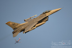Nellis AFB - Jun 7, 2018  General Dynamics F-16C Fighting Falcon  16th Weapons Squadron - United States Air Force