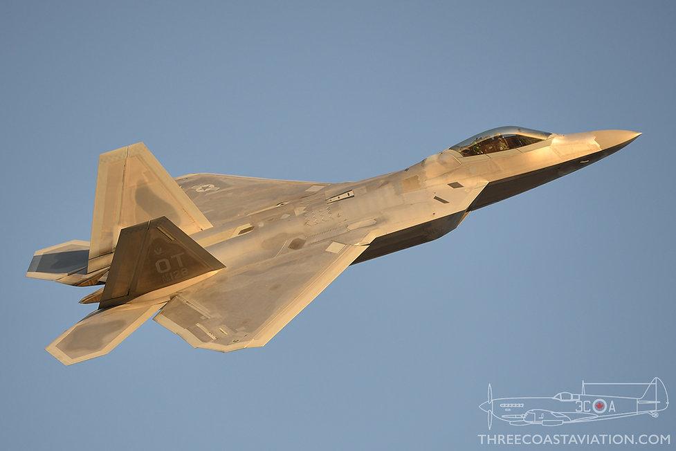 Nellis AFB - Jun 7, 2018 - F-22 Raptor