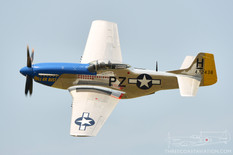 Thunder Over Michigan - 2014  North American P-51D Mustang 'Hell-Er Bust'