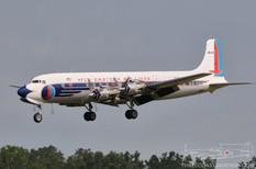 Thunder Over Michigan - 2010  Douglas DC-7B  Historical Flight Foundation