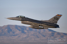Tucson Air National Guard Base - Feb 20, 2019  General Dynamics F-16C Fighting Falcon  152nd Fighter Squadron 'Tigers' - United States Air National Guard