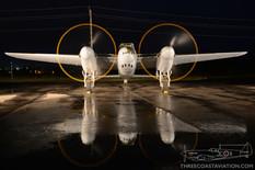 Canadian Warplane Heritage Museum Night Run - 2015  de Havilland DH-98 Mosquito FB.26  Military Aviation Museum