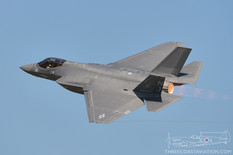 Airshow London - 2017  Lockheed Martin F-35C Lightning II  VFA-101 Grim Reapers - United States Navy