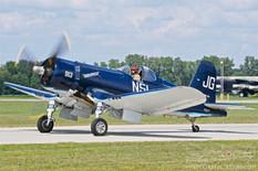Thunder Over Michigan - 2019  Goodyear FG-1D Corsair 'Godspeed'  American Airpower Museum