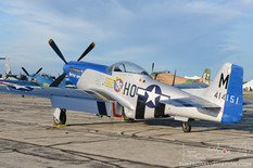 Thunder Over Michigan - 2017  North American P-51D Mustang 'Petie 2nd'