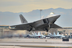 Red Flag 13-2  Lockheed Martin F-22 Raptor  199th Fighter Squadron - United States Air Force