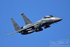 Star Wars Canyon - Jan 24, 2019  McDonnell Douglas F-15E Strike Eagle  335th FS Chiefs - United States Air Force