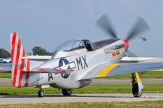 EAA AirVenture Oshkosh - 2019  North American P-51D Mustang 'Mad Max'