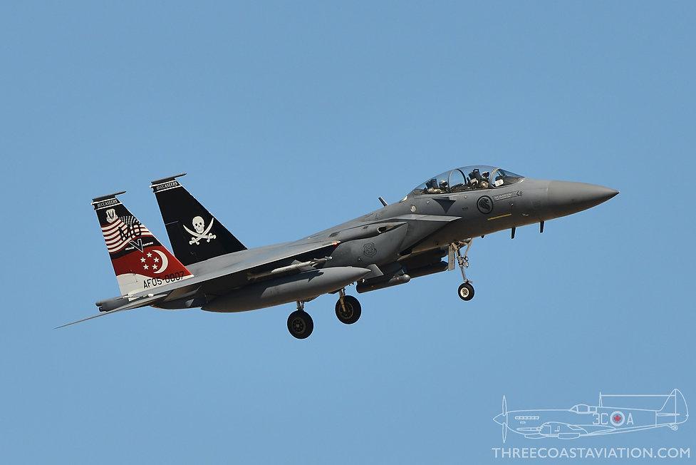 Red Flag 17-4 - F-15SG Strike Eagle