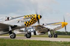 Thunder Over Michigan - 2010  North American P-51D Mustangs  The Horsemen Flight Team