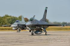 Airshow London - 2017  General Dynamics F-16C Fighting Falcon  112th FS Stingers - Ohio Air National Guard