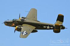 Thunder Over Michigan - 2019  North American B-25J Mitchell 'Georgie's Gal'  Liberty Aviation Museum