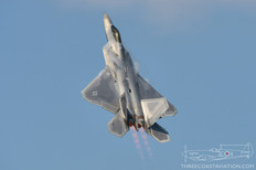 Airshow London - 2017  Lockheed Martin F-22A Raptor  43rd Fighter Squadron 'Hornets' - United States Air Force