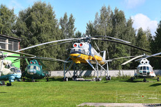 Central Air Force Museum  Mil Mi-10 Harke