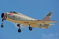Centennial of Naval Aviation - Naval Air Station North Island  North American FJ-4B Fury