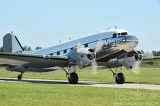Thunder Over Michigan - 2013  Douglas C-47 Skytrain 'Yankee Doodle Dandy'  Yankee Air Museum