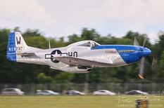 Thunder Over Michigan - 2009  North American P-51D Mustang 'Moonbeam McSwine'  Vlado Lenoch