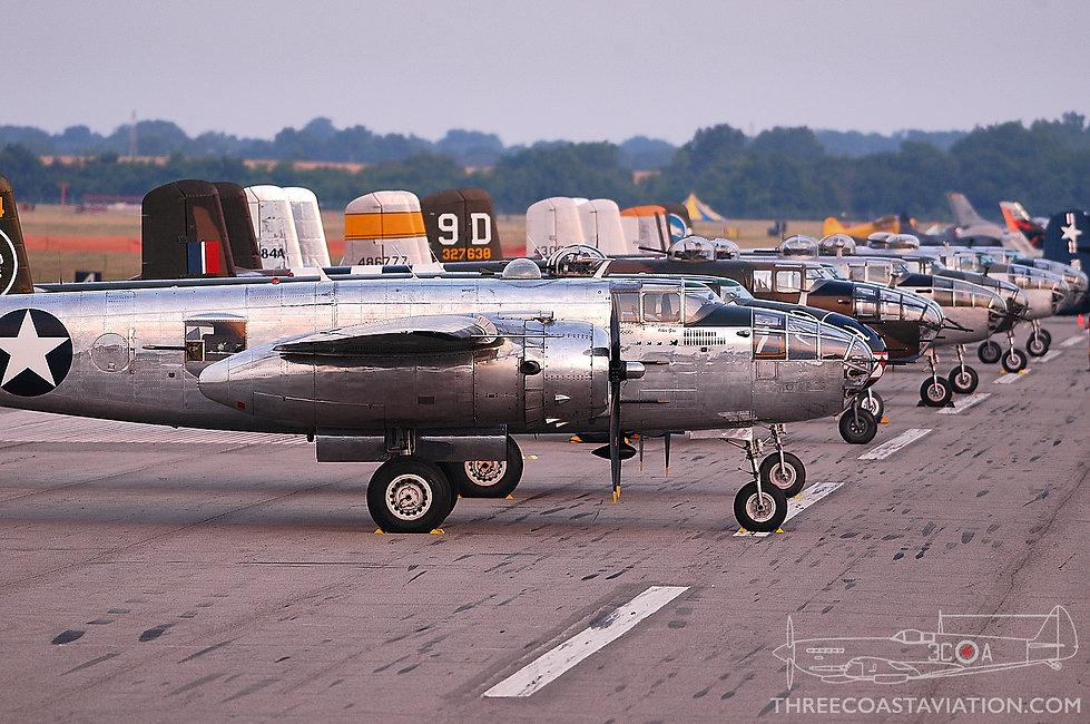 Thunder Over Michigan - 2007 - B-25 Mitchells