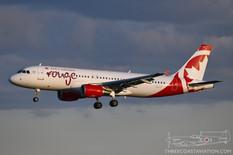 CYYZ - Aug 22, 2019  Airbus A320  Air Canada Rouge