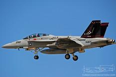 Centennial of Naval Aviation - Naval Air Station North Island  Boeing F/A-18F Super Hornet  VX-9 Vampires - United States Navy
