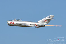 Airshow London - 2017  Mikoyan-Gurevich MiG-17PF Fresco  Fighter Jets Inc