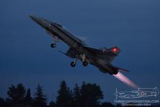 Airshow London - 2021  McDonnell Douglas CF-188A Hornet  CF-18 Demo Team - Royal Canadian Air Force