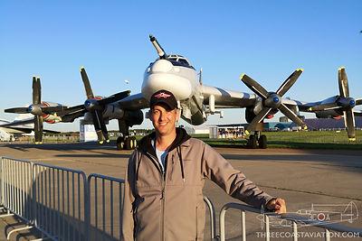 MAKS 2019 - Tu-95 Bear
