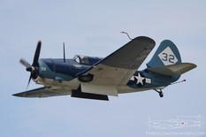 Thunder Over Michigan - 2011  Curtiss SB2C Helldiver  Commemorative Air Force