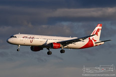 CYYZ - Aug 22, 2019  Airbus A321  Air Canada Rouge