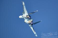 MAKS - 2019  Sukhoi Su-30SM Flanker-H