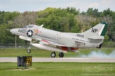 Thunder Over Michigan - 2013  Douglas A-4B Skyhawk  Warbird Heritage Foundation