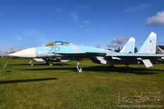 Central Air Force Museum  Sukhoi T-10M-1 Flanker-E (Su-27P/Su-35 Prototype)