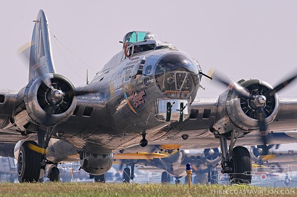 Thunder Over Michigan - 2005 - B-17G Flying Fortress 'Sentimental Journey'