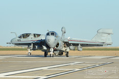 NAF El Centro - Oct 24, 2012  Northrop Grumman EA-6B Prowler  VAQ-129 Vikings - United States Navy