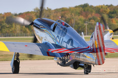 Gathering of Mustangs & Legends - 2007  North American P-51C Mustang 'Betty Jane'